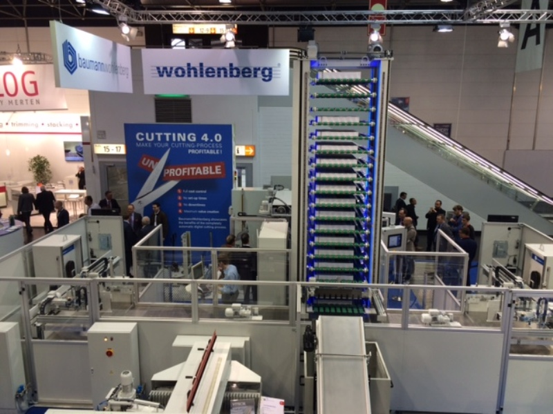Cutting SYstem wows the crowd