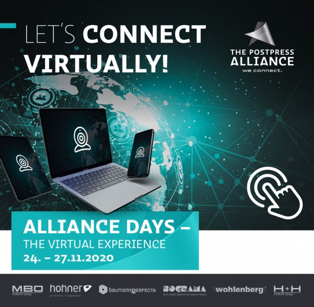 ALLIANCE DAYS - Virtual Open House of the Postpress Alliance - Alliance Days - The virtual experience